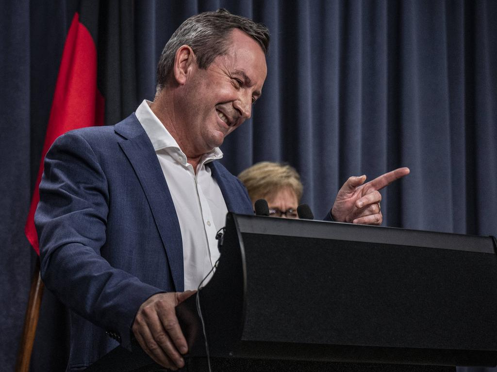 Premier Mark McGowan said he was pleased with the court outcome. NCA NewsWire/Tony McDonough