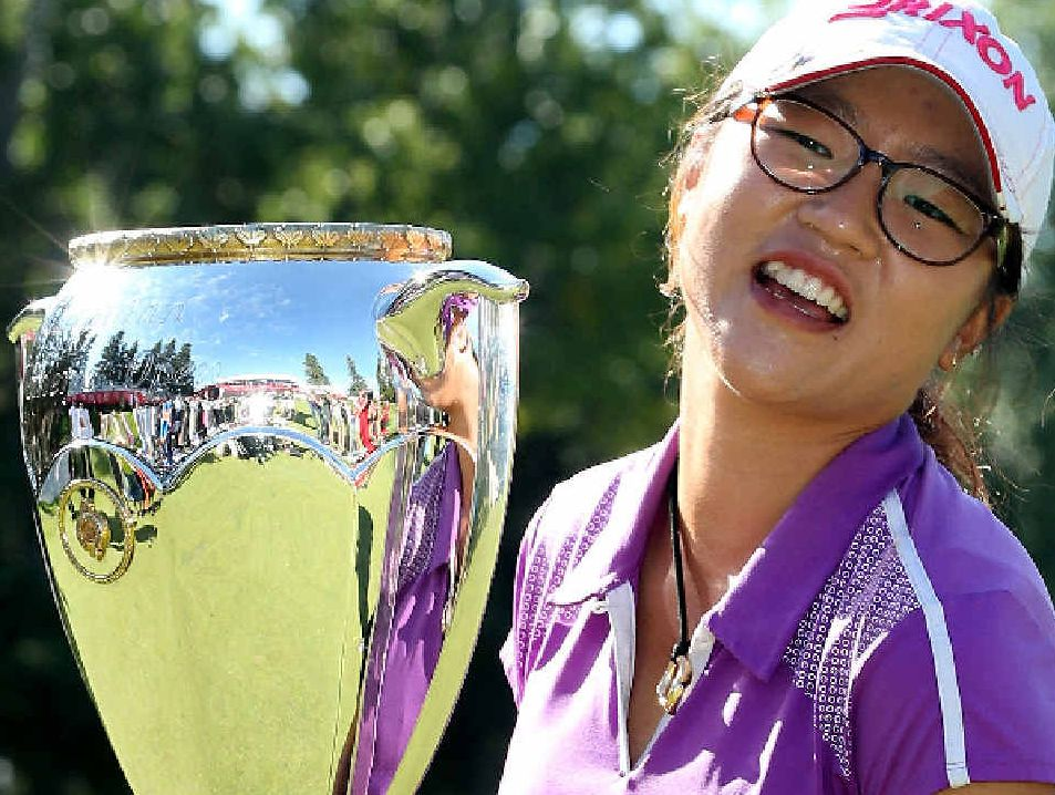 Lydia Ko is the highest-ranked Kiwi in golf history. Picture: Getty Images
