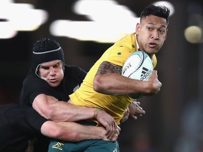 The Wallabies must find space for Israel Folau.