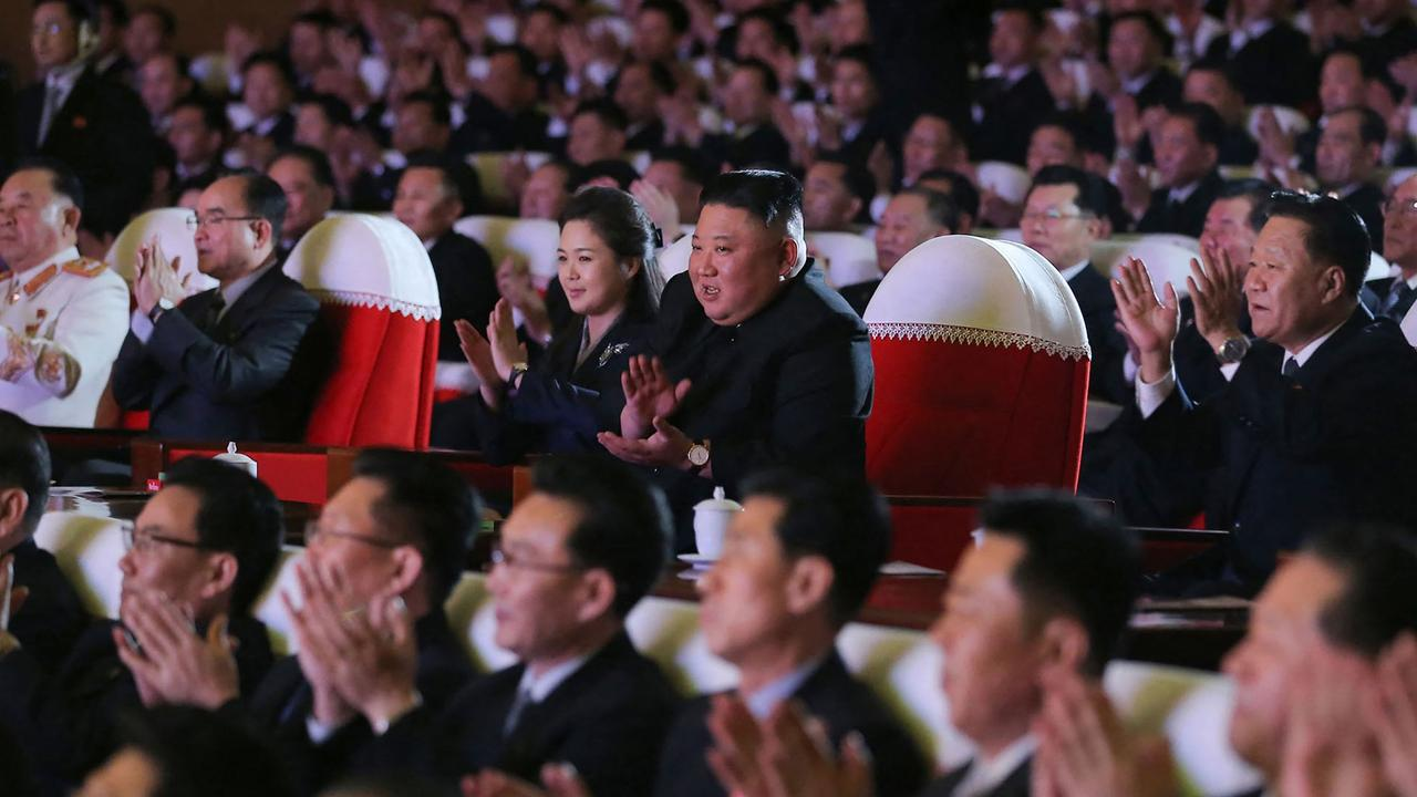 North Korea hasn't officially reported any COVID-19 cases. Picture: STR/AFP