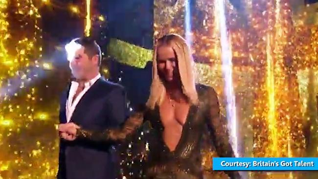 Amanda Holden wears revealing dress on Britain's Got Talent