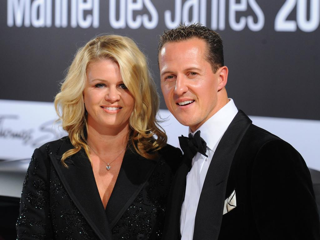 Corinna has continued to stand by Schumacher's side as he recovers.
