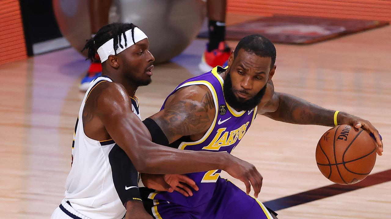 LeBron James went wild in a huge win for the Lakers.