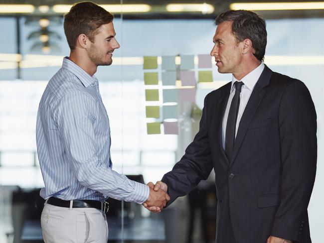 There are pros and cons of combining professional and personal lives. Picture: iStock