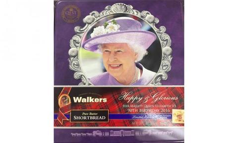 Queen-themed shortbread