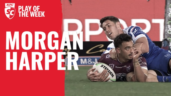 KFC SuperCoach NRL Play of the Week: Morgan Harper goes bang in Round 18