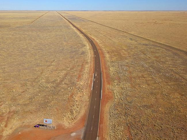 BIRD'S-EYE VIEW Taken with a drone on the border of the Northern Territory and Queensland during a recent outback road trip. -Phil Marshall (Pic of the Week — October 6, 2019)