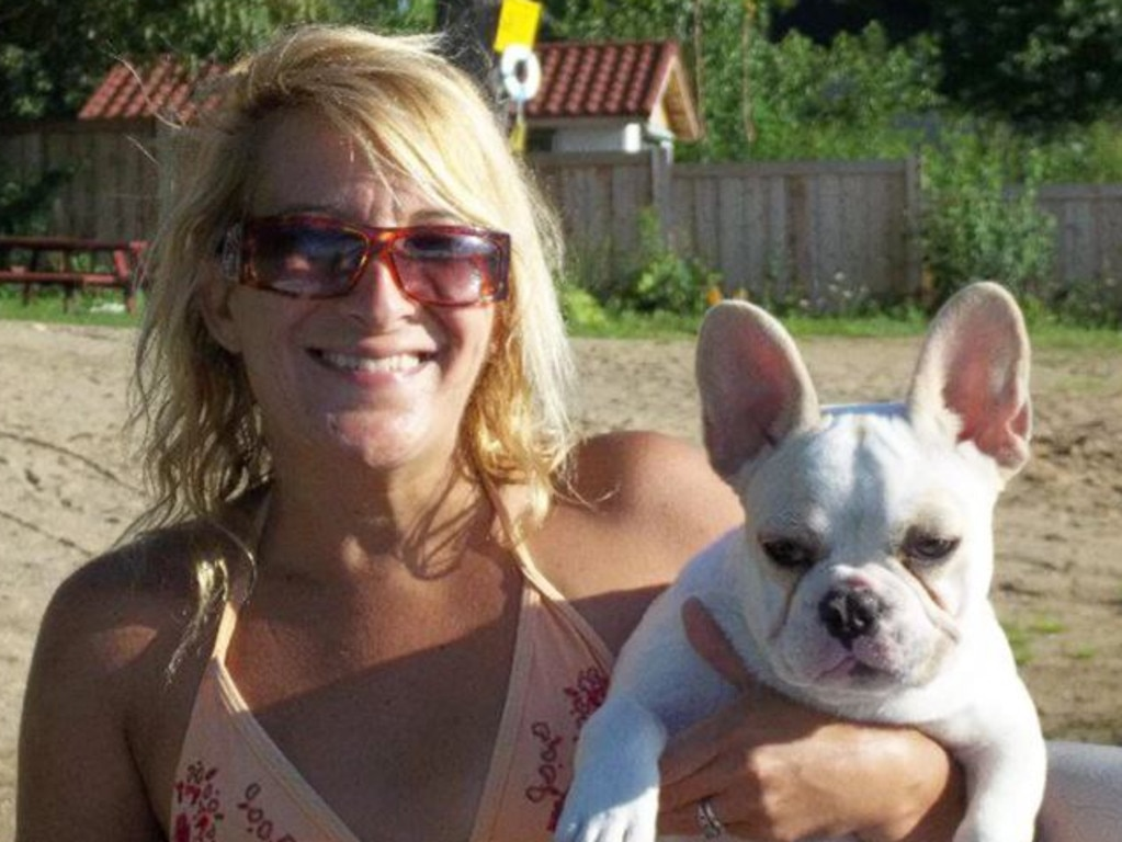 Ms Urso pictured with another of her dogs who is not believed to have been involved in the attack. Picture: Facebook