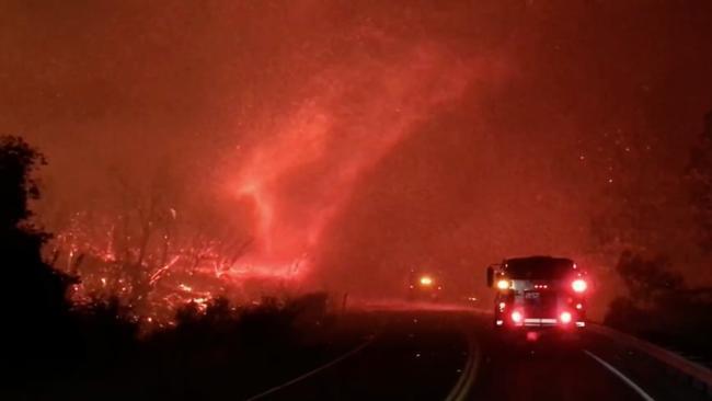 'Firenado' Swirls Amid California's Deadly Carr Fire