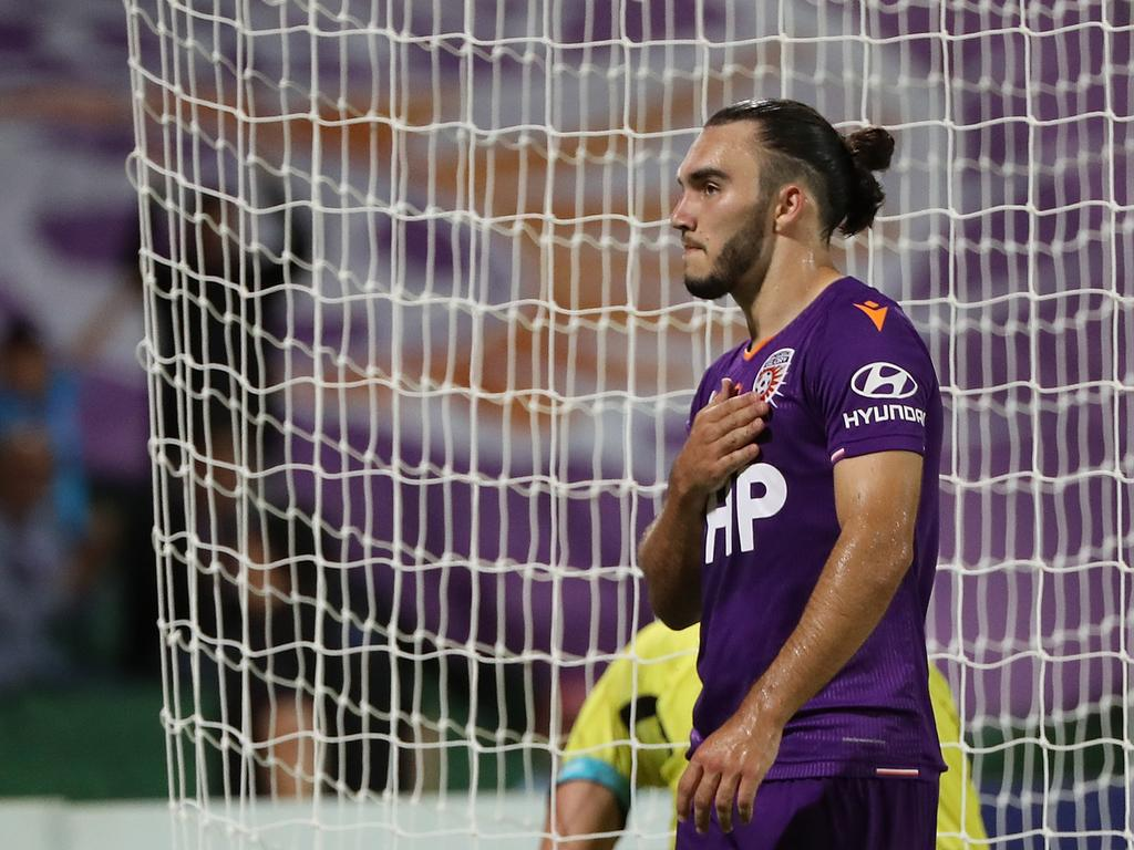 Nick D'Agostino won't be returning to Perth Glory. Picture: Paul Kane/Getty Images