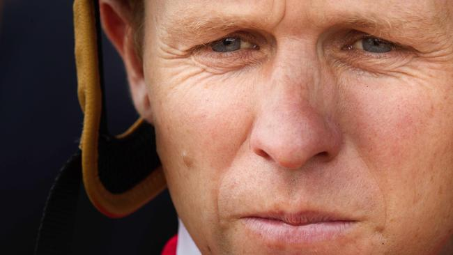 Kerrin McEvoy is confident Believe will run well on Saturday. Picture: Jenny Evans