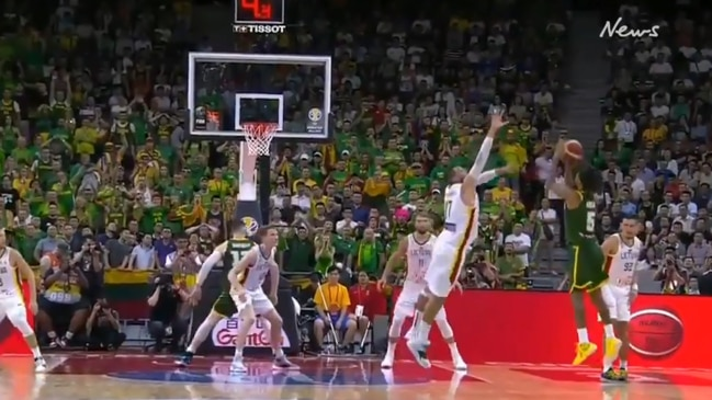 Patty Mills' incredible 3-pointer saves the Boomers