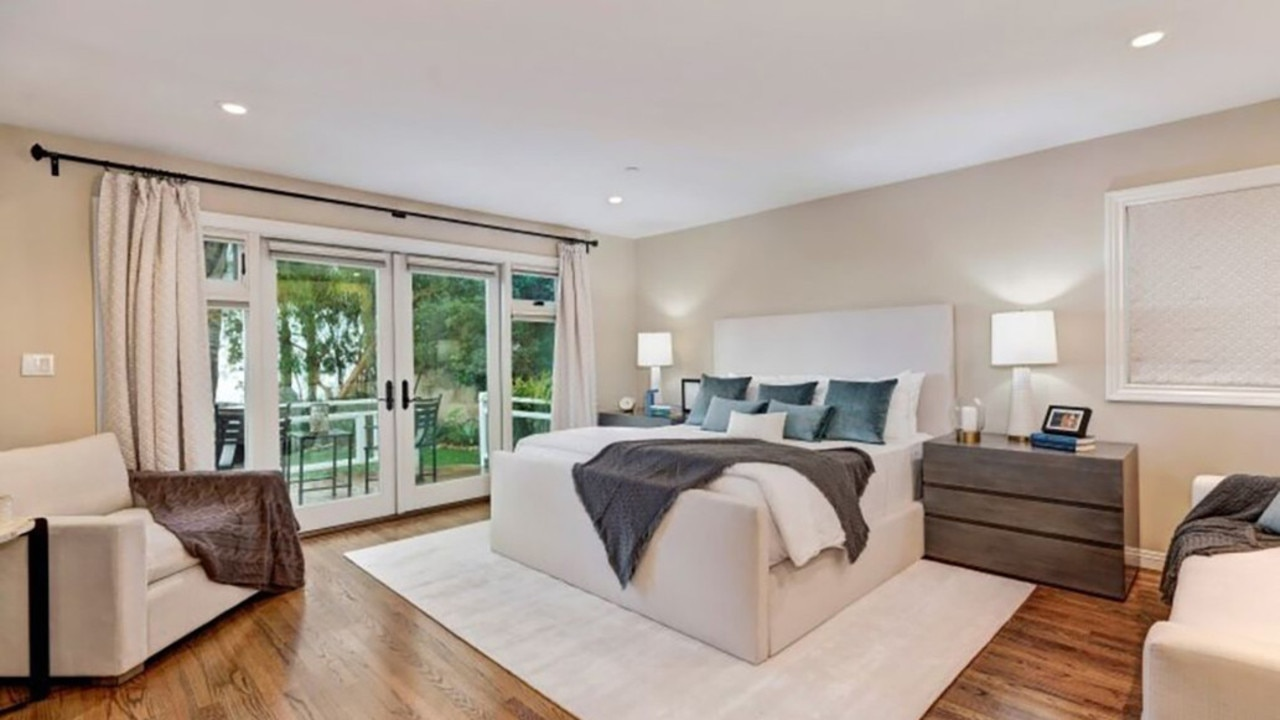 Another of the home's bedrooms.