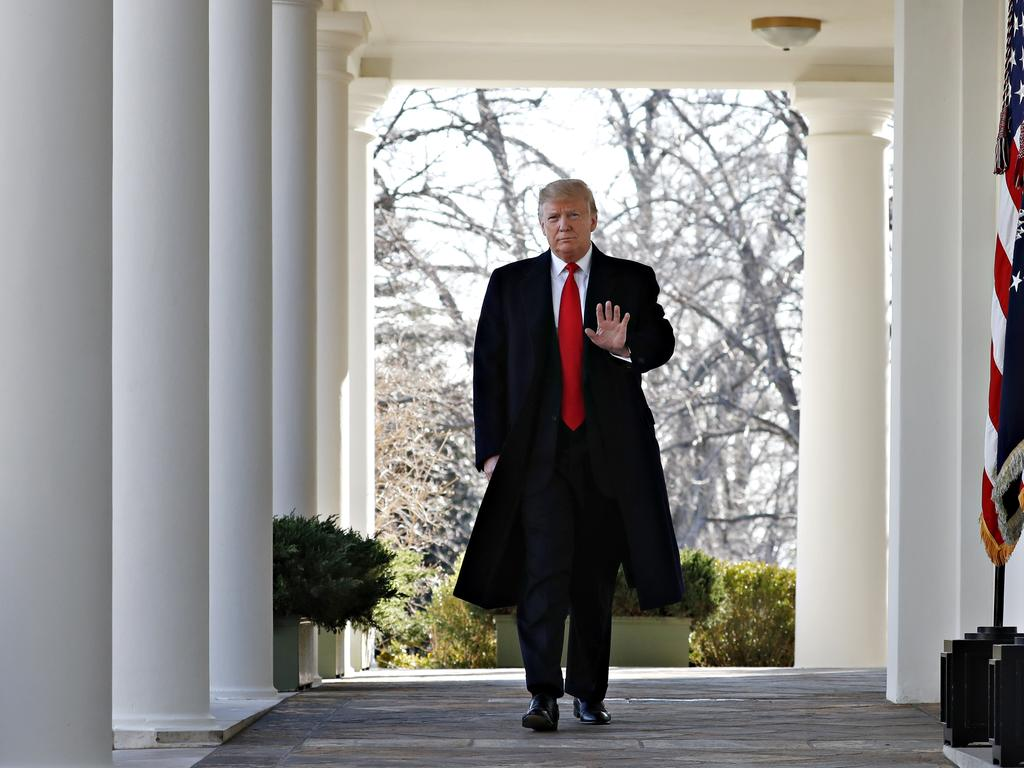Economists say the shutdown wiped $US11 billion off the US gross domestic product. Picture: AP/Jacquelyn Martin