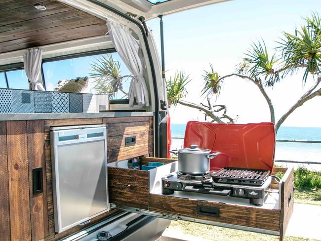 6/18Coolum Beach, QLD 'Hendrix' is the original luxury campervan, packed with awesome features for epic adventures. Camplify