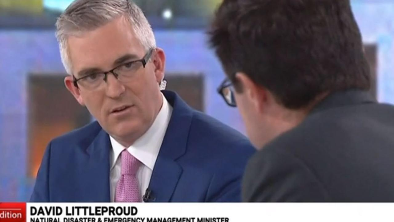 David Speers does his best 'Is that your final answer?' face. Picture: Sky News