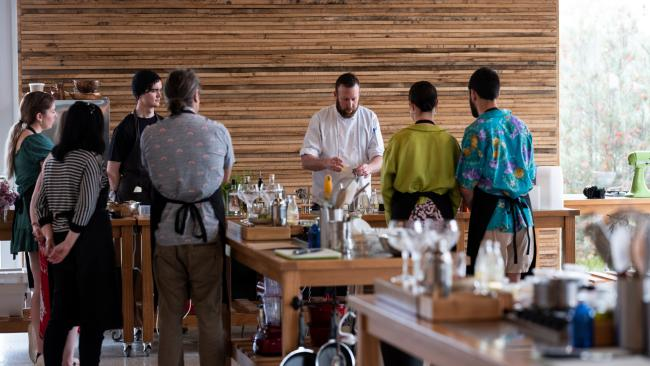 Cooking School at The Farm Eatery in Nuriootpa, South Australia.