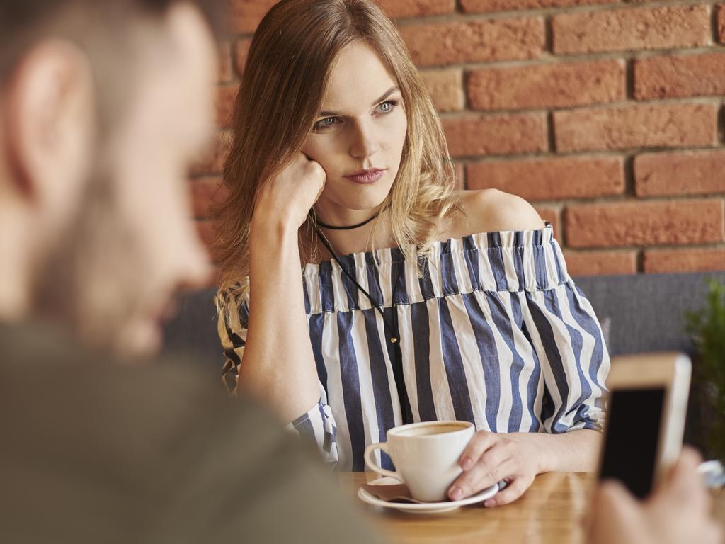 Your partner constantly using his phone around you could be an emotional coping strategy. Picture: iStock.