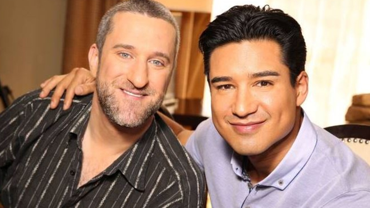 Saved By The Bell co-star Mario Lopez has paid tribute to Diamond. Picture: Supplied