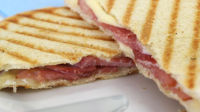 You'll get all your old favourites, such as a cheese and ham toastie, at Franklin Street Snack Bar.