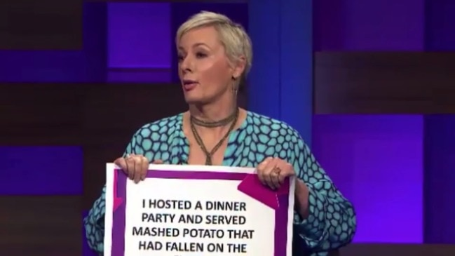 Amanda Keller's disgusting dinner party faux pas (Ten)