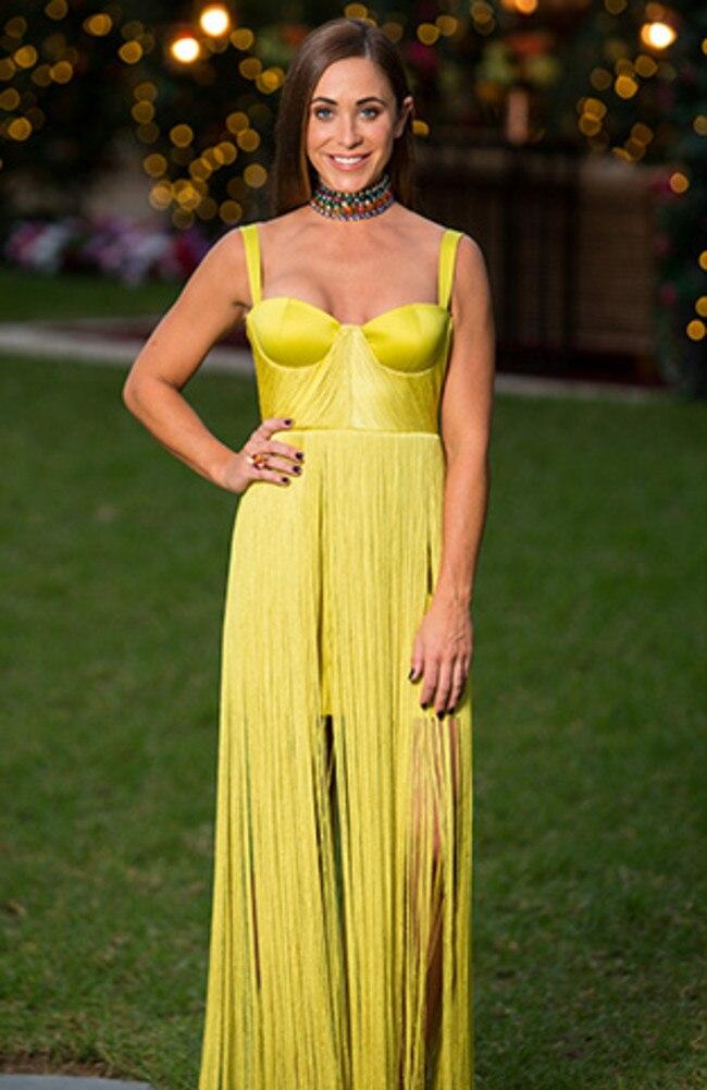 Rhiannon wore a House of CB dress.