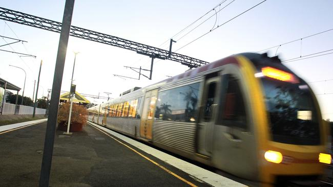 The Wednesday afternoon train from Brisbane arrives at the Nambour Railway Station at 7pm. Story about a day in the life of commuters to Brisbane on our trains by Kathy Sundstrom. Photo: Brett Wortman / Sunshine Coast Daily