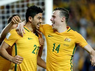 Socceroos vs Jordan