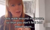 Mum goes viral with her super relatable home tours