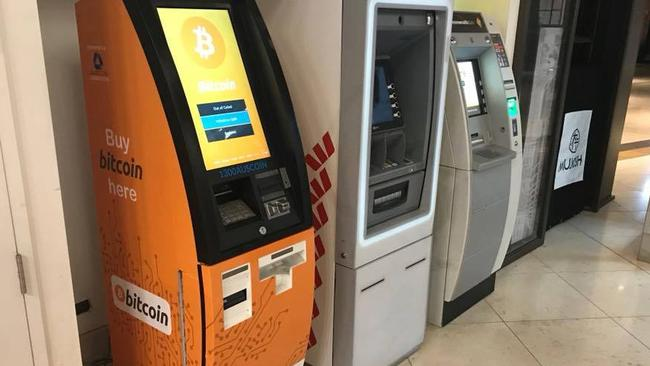 Auscoin plans to roll out 1200 bitcoin ATMs. Picture: Supplied