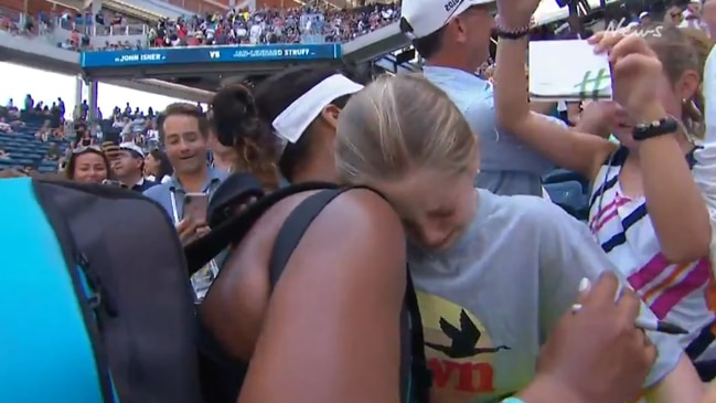 Naomi Osaka reduces little girl to tears
