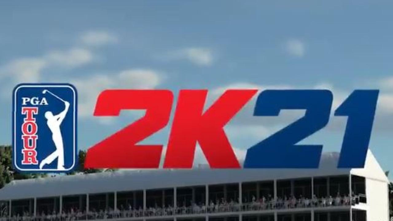 The new game - PGA Tour 2K21. Credit: @PGATOUR2K