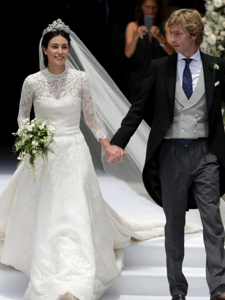 Alessandra de Osma and Prince Christian of Hanover in March 16, 2018. Picture: Raul Sifuentes/Getty Images.