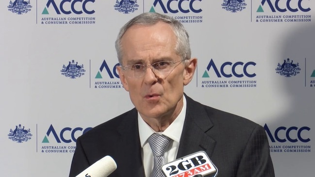 ACCC chairman Sims sums up report recommendations