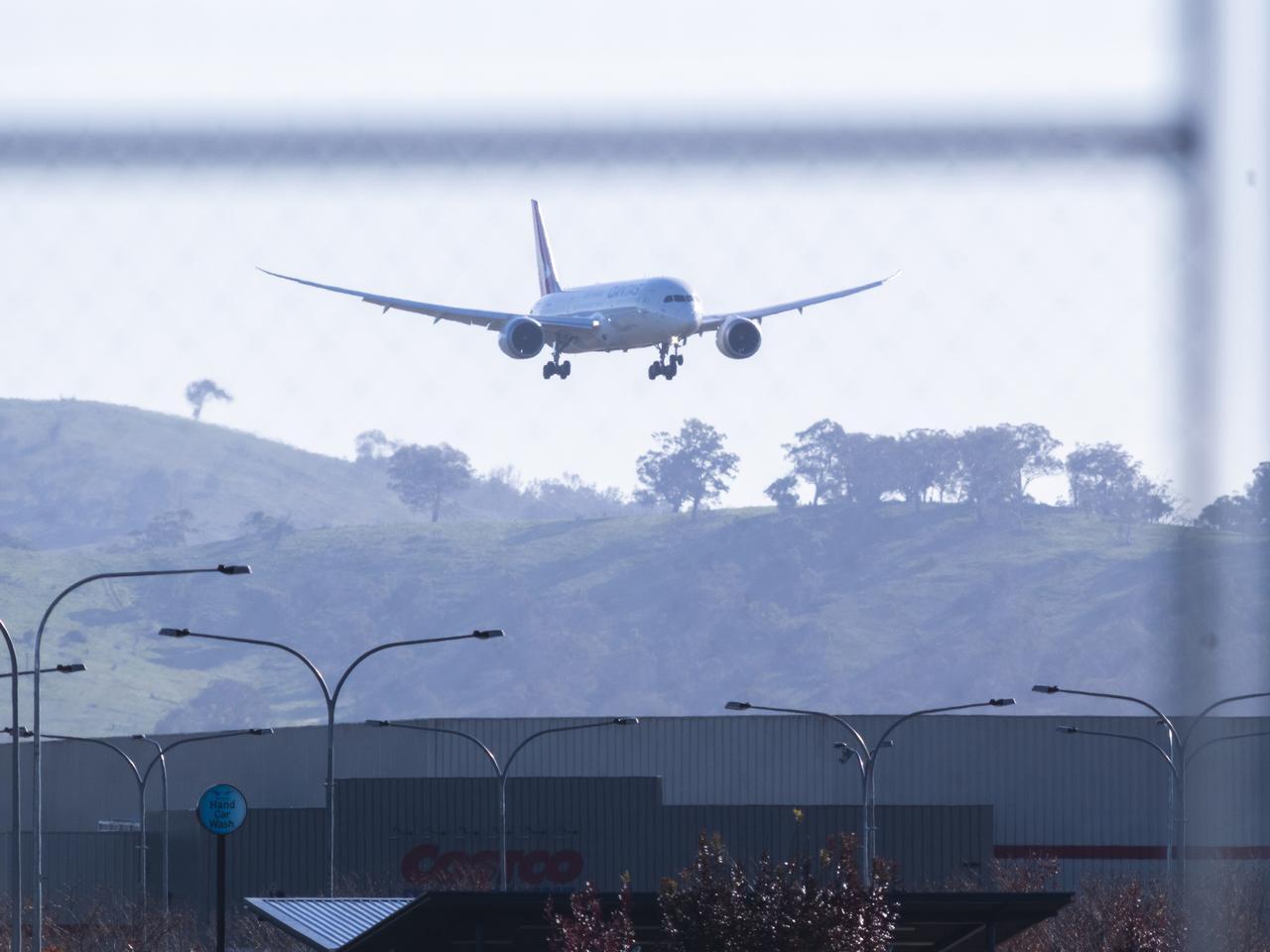 Repatriation Flight Returns Australians From Delhi During Coronavirus Outbreak