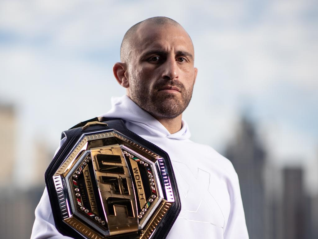 Alex Volkanovski is desperate to retain his UFC Featherweight title. (Photo by Cameron Spencer/Getty Images for UFC)