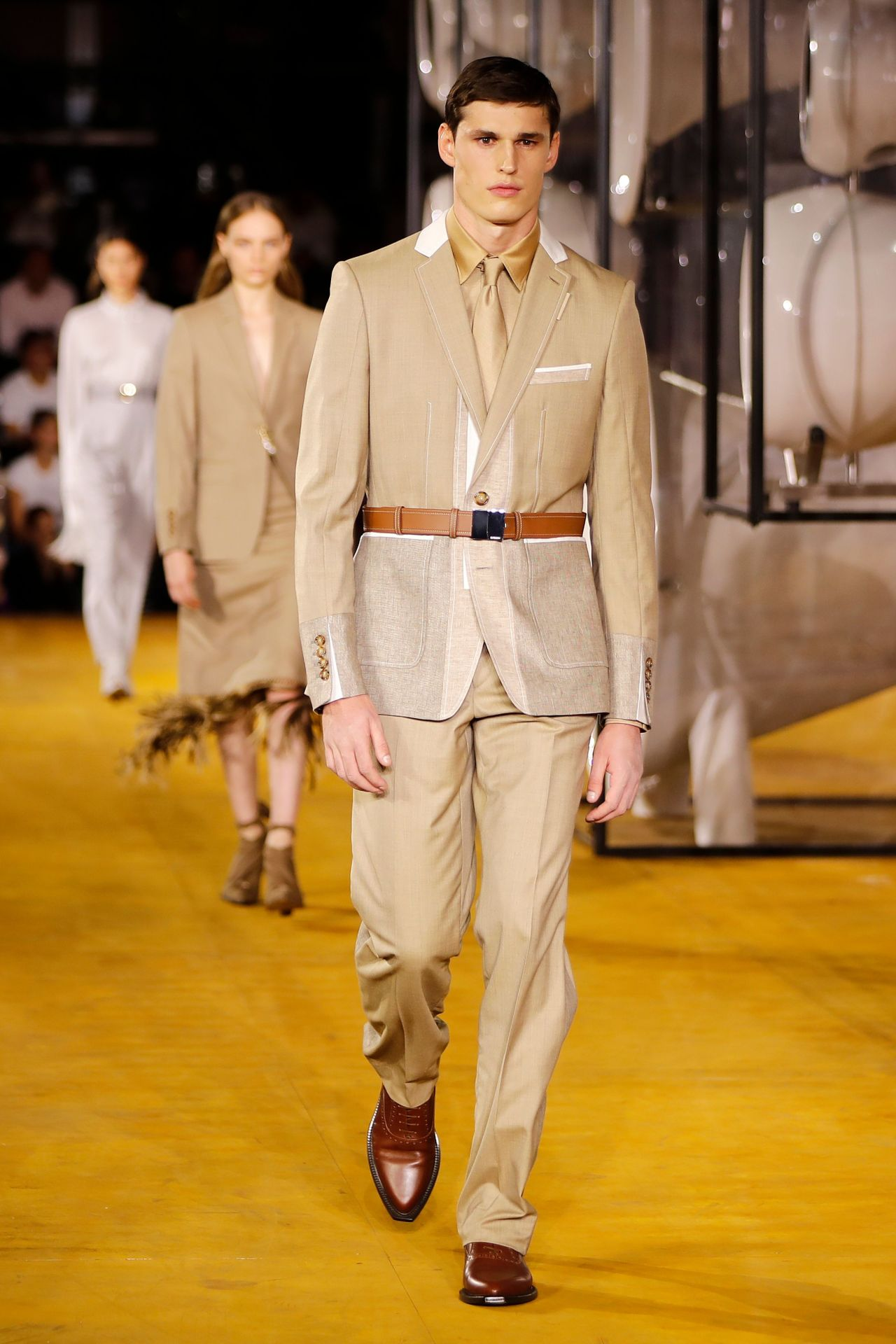 Burberry ready-to-wear spring/summer 2020. Image credit: Tolga Akmen/AFP/Getty Images