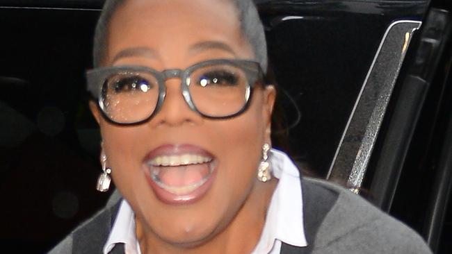 Oprah has worked hard to shed almost 20kg. Picture: Raymond Hall/GC Images