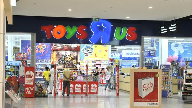 Toys 'R' Us at Castle Hill in Sydney.
