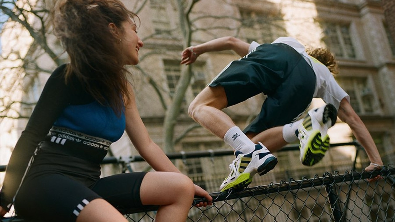 Streetwear meets activewear with the iconic adidas. Image: adidas.