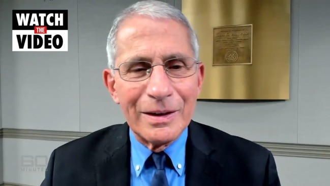"Coronavirus: Dr Anthony Fauci reveals Australia has ""done it right"" (60 Minutes)"