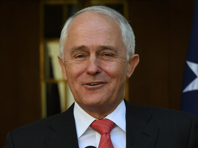 Prime Minister Malcolm Turnbull has noted the unprecedented support the same-sex marriage survey showed. Picture: Dean Lewins/AAP
