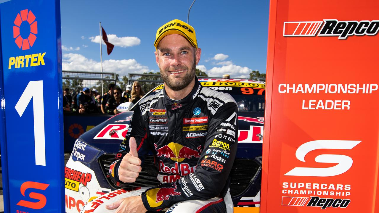 Shane van Gisbergen opened the season with a dominant win in the Bathurst 500 last month. Picture: Getty Images