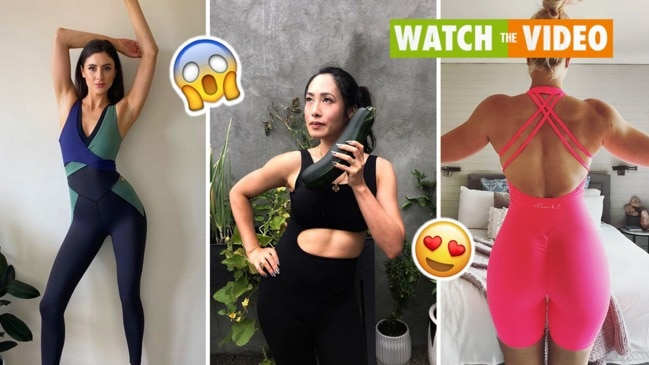Bodysuits: the racy gym outfit Aussies are snapping up