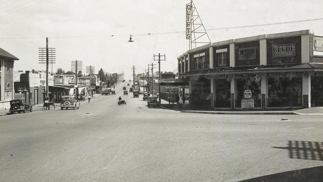The site pictured in 1936..