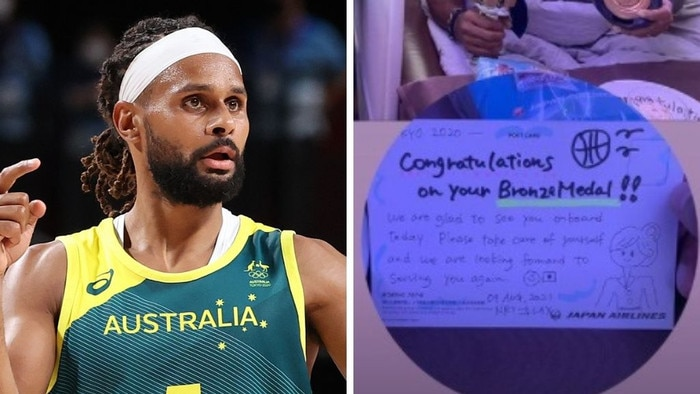 Patty Mills shared his journey on social media. Photo: Getty, Instagran @balapat