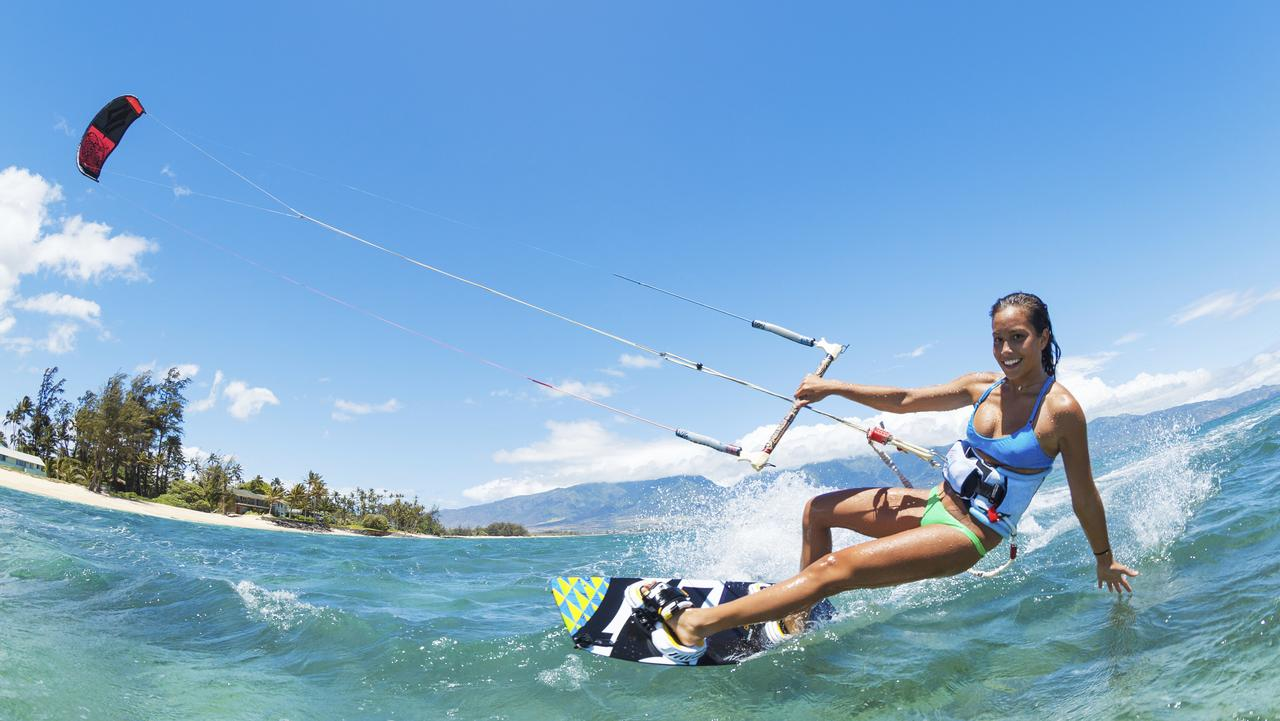 Let's go fly a kite - and surf with one. Picture: Thinkstock