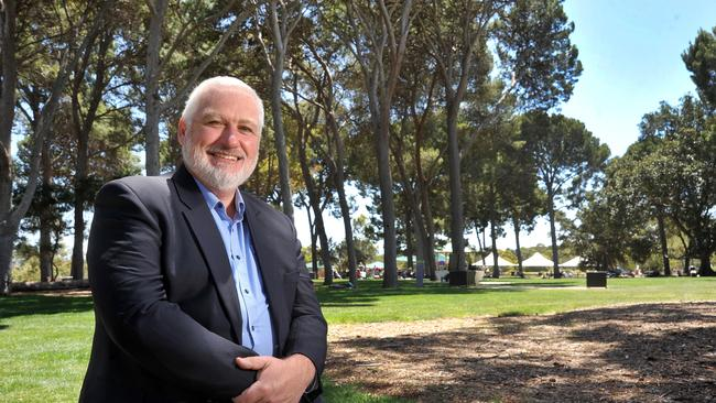 Campbelltown Mayor Simon Brewer at Thorndon Park, is backing the plan. Picture: Roger Wyman