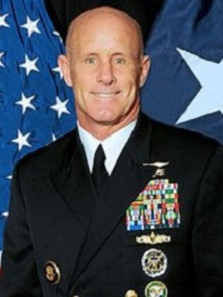 Robert Harward, a former Navy Seal, could be the next national security adviser. Picture: Supplied
