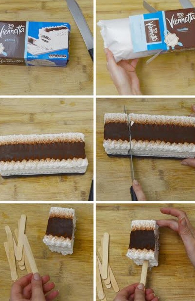 While the Viennetta on a stick isn't in Australia yet, it will be soon.